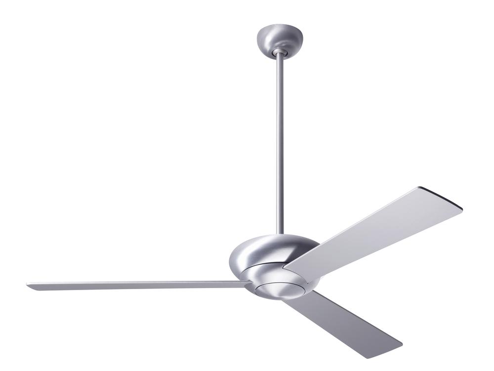Altus fan brushed aluminum finish 52 aluminum blades no light fan speed control alt ba 52 al nl 001 lbu lighting