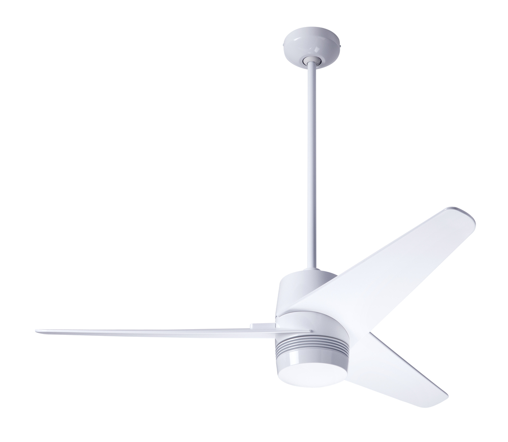 Velo fan gloss white finish 48 white blades no light fan speed control vel gw 48 wh nl 001 lbu lighting