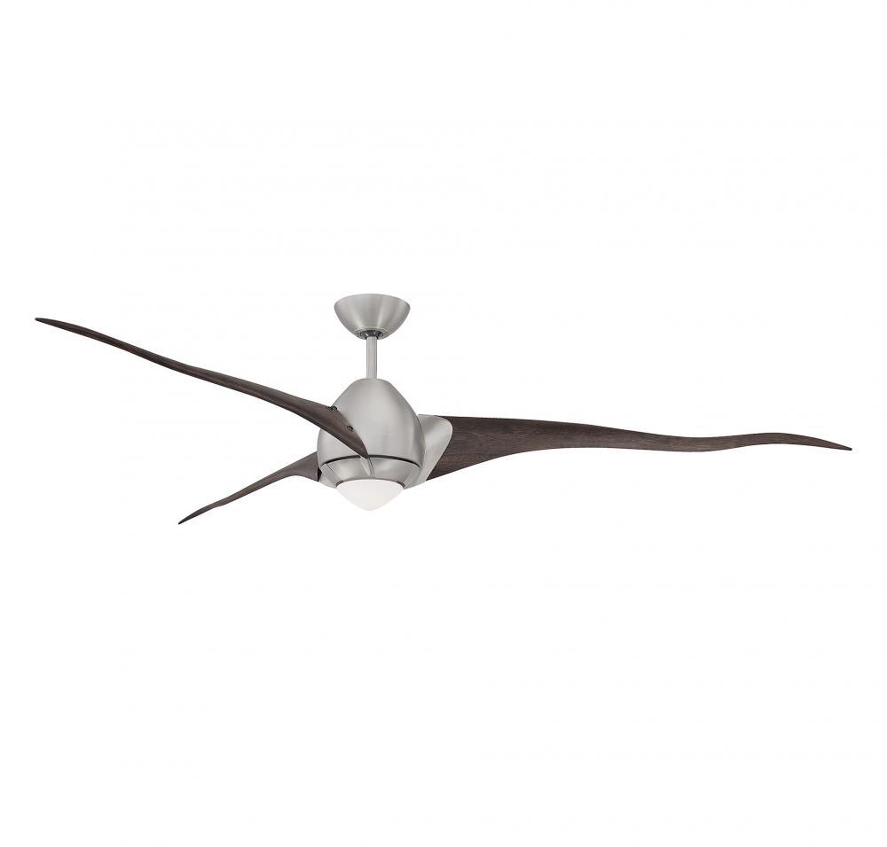 72 ceiling fan weatherproof outdoor satin nickel ceiling fan 724293cnsn lbu lighting