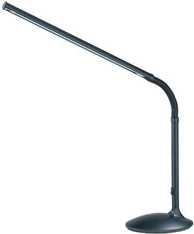 Fluorescent Desk Lamp, Black, Fluorescent Tube T5/13W(6400K) : LSP 770BLK |  LBU Lighting