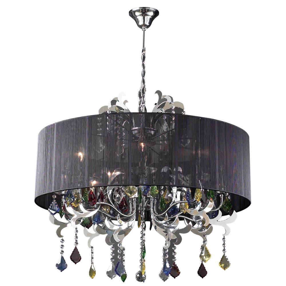 PLC 8 Light Chandelier Torcello Collection 34116