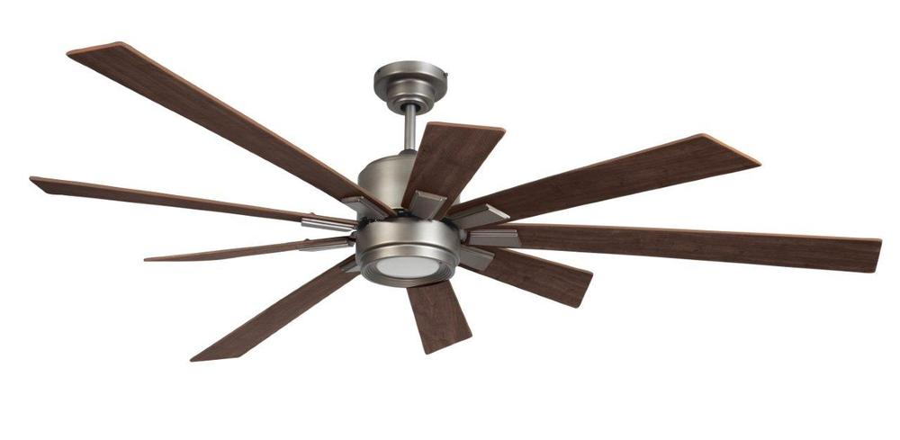 Katana 72 ceiling fan kit with led light in pewter kat72pt 72wln lbu lighting