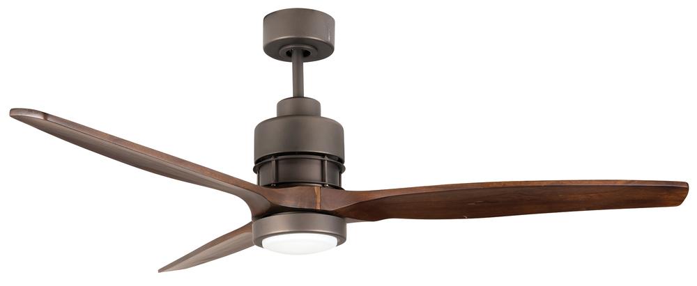 Sonnet 52 ceiling fan kit with led light in espresso son52esp 70wal lbu lighting