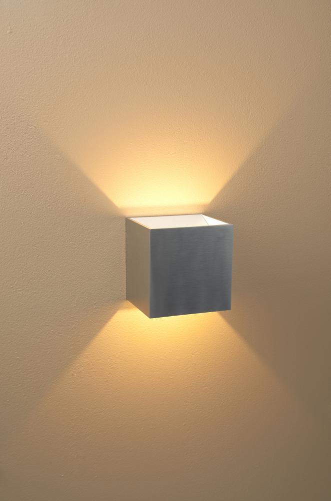 Qb Led Dimmable Wall Sconce 103040alwhdim Lbu Lighting