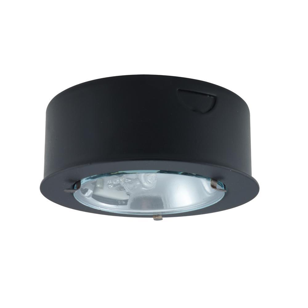 Round metal halogen puck light pk100 bl lbu lighting aloadofball Image collections
