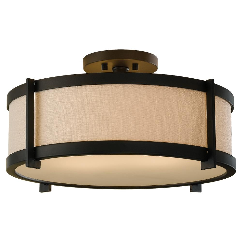 2 light indoor semi flush mount sf272orb lbu lighting mozeypictures Images