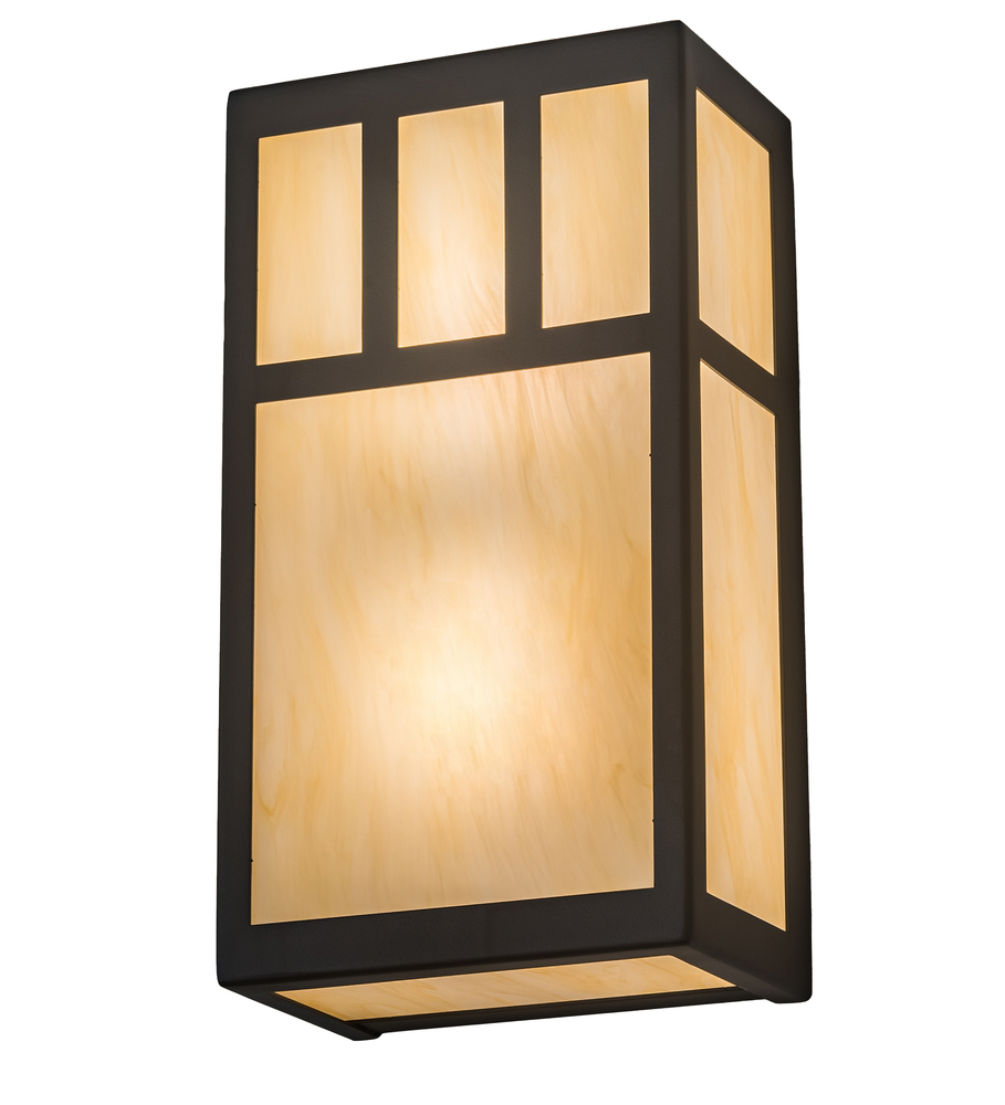 65 Wide Hyde Park Double Bar Mission Wall Sconce 195568 Lbu